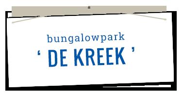 Logo Bungalowpark de Kreek